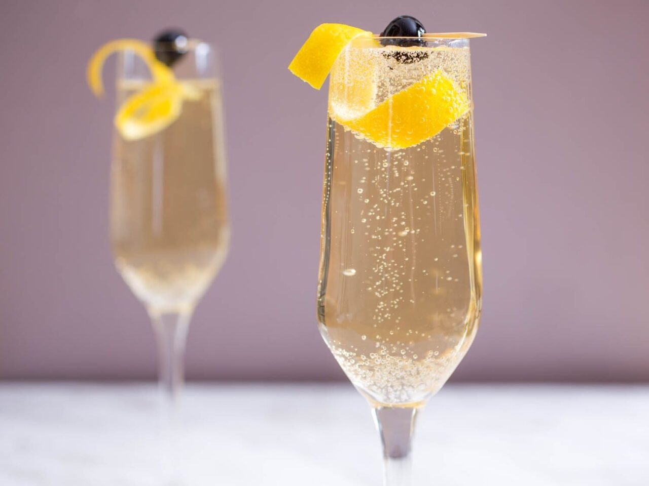 Clean, Crisp, and Delicious French 75 Cocktail