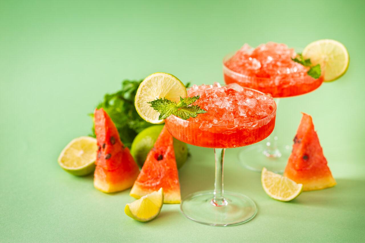My Fresh and Frozen Watermelon  Margarita
