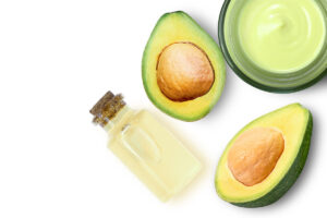 avocado and olive oil split ends hair mask