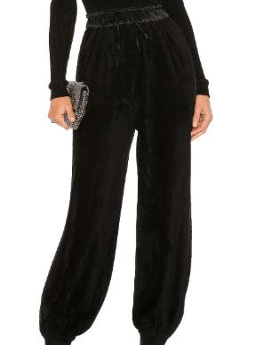Black Flowing Pant