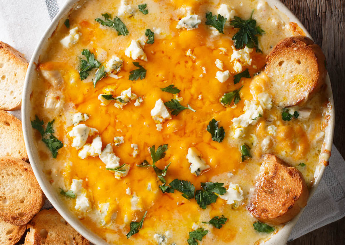 Buffalo Chicken Dip for the Ultimate Super Bowl Celebration
