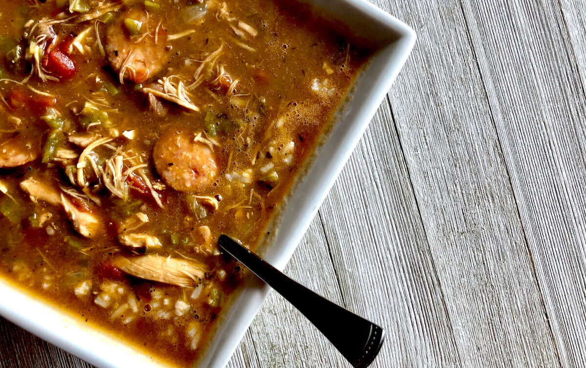 Mrs. Gilly's Chicken and Sausage Gumbo