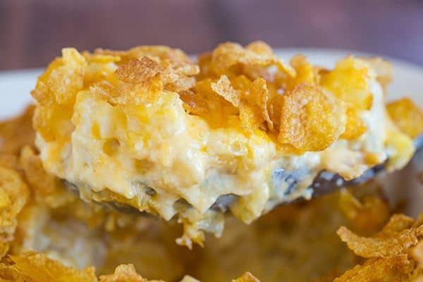 Cheesy Potato Cornflake Casserole 14 600